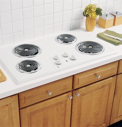 GE JP626WKWW Electric Cooktop |Appliances Connection