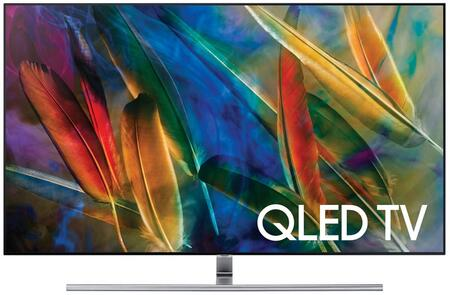Samsung QNxxQ7FAMFXZA Energy Star Rated Q7C QLED 4K Flat TV with Quantum Dots, 4K Ultra HD Resolution, 240 Motion Rate, and Smart Hub, in Black