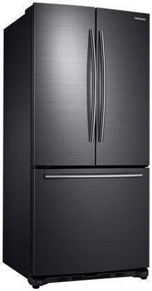 samsung rf18hfenbsg 33 inch counter depth french door refrigerator in black stainless steel. Black Bedroom Furniture Sets. Home Design Ideas