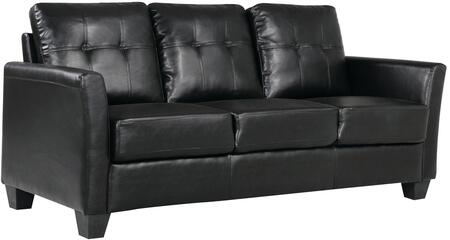 Glory Furniture G572S  Stationary Faux Leather Sofa
