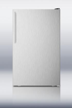 "AccuCold FS408BLXBISSHV20"" Freestanding Upright Counter Depth Freezer"