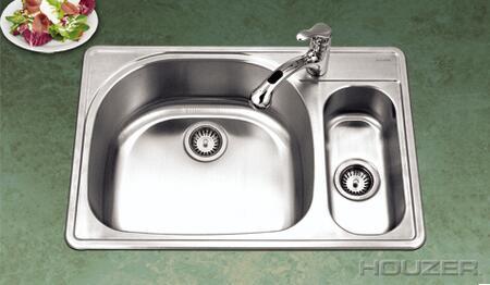Houzer PMG3322SR Kitchen Sink