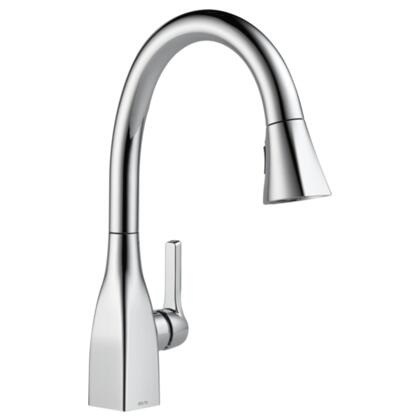 Mateo  9183-DST Delta Mateo: Single Handle Pull-Down Kitchen Faucet in Chrome