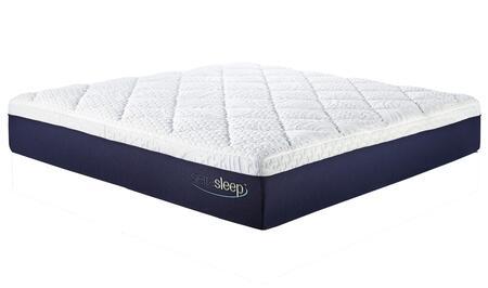 Sierra Sleep 13 Inch Gel Memory Foam M974 Standard X Size Mattress with MyGel Foam, Synthetic Latex and High Density Fresh Air Base in White