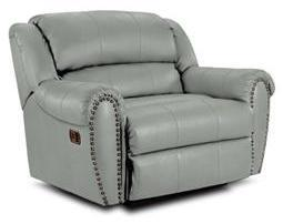 Lane Furniture 21414174597514 Summerlin Series Transitional Leather Wood Frame  Recliners