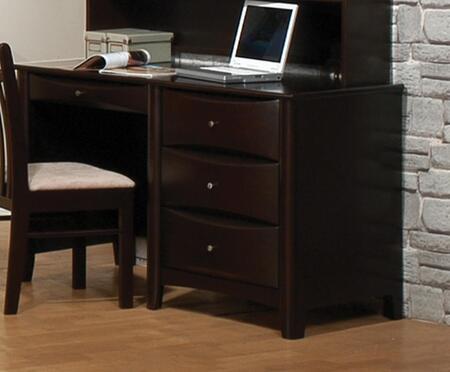 Coaster 400187 Phoenix Series Computer  Wood Desk