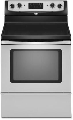 Whirlpool WFE301LVS  Electric Freestanding Range with Smoothtop Cooktop, 4.8 cu. ft. Primary Oven Capacity, Storage in Stainless STeel