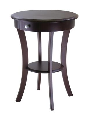 Winsome XXX27 Sasha Round Accent Table