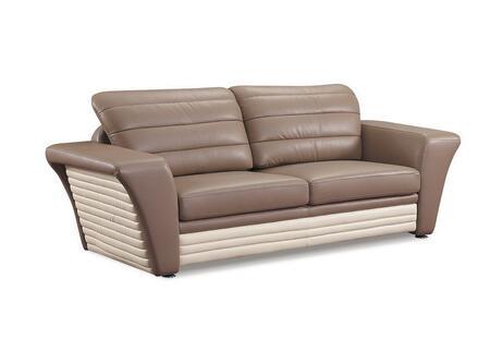 Global Furniture USA A163R2VS  Leather Sofa