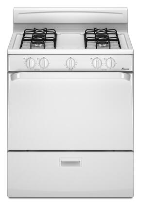 """Amana AGR3311WDW 30"""" Gas Freestanding 