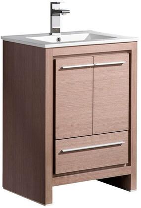 """Fresca FCB8125XXI Allier 24"""" Modern Bathroom Cabinet w/ Sink in"""