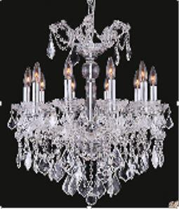 "J & P Crystal Lighting Maria Thersea 2800D22 22"" Wide Chandelier in X Finish"