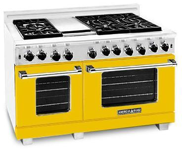 American Range ARR484GDGRYW Heritage Classic Series Natural Gas Freestanding |Appliances Connection