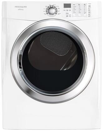 """Frigidaire FASG7074NW 27"""" Gas Affinity Series Gas Dryer 