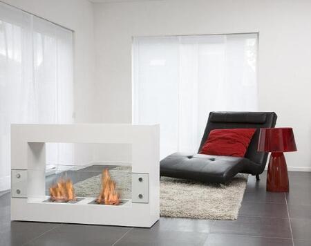 Bio-Blaze BBQ010687W  Bioethanol Fireplace