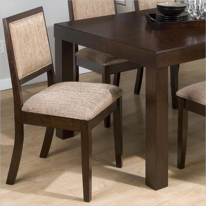 Jofran 326424KD Cappuccino Series Transitional  Dining Room Chair