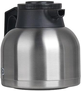 Bunn-O-Matic 40163.0x00 1.9L Economy Thermal Carafe Portable Server With 64oz. Capacity, Vacuum Insulation, in Stainless Steel