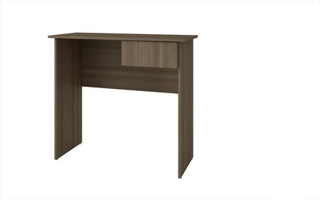 Accentuations 38AMC Accentuations by Manhattan Comfort Simple Cosenza Work Desk with 1 - Drawer