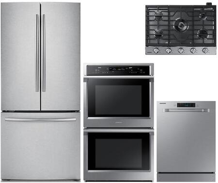 Samsung 1011350 4 Piece Stainless Steel Kitchen Appliances Package
