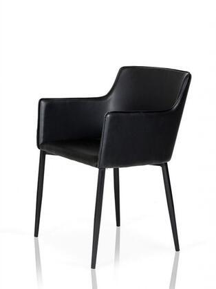 VIG Furniture VGLEY115 Modrest Agena Series Modern Wood Frame Dining Room Chair