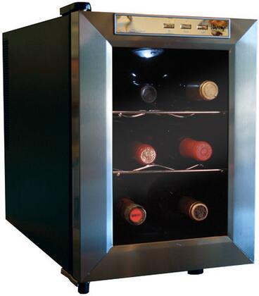 "Vinotemp VT12TEDS 13.5"" Freestanding Wine Cooler"