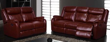 Global Furniture USA U9303BURRSLG Living Room Sets