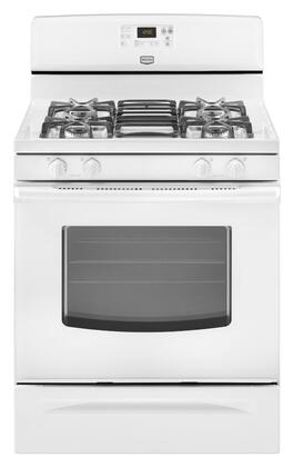 """Maytag MGR7662WW 30"""" Gas Freestanding 