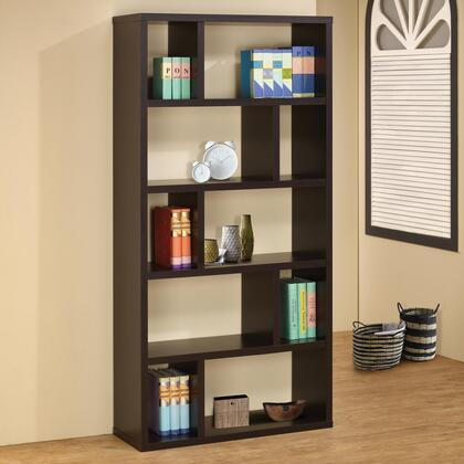 Coaster 800296 Bookcases Series  5 Shelves Bookcase