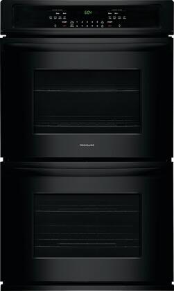 "Frigidaire FFET3026T 30"" Star K Certified Double Wall Oven with 9.2 cu. ft. Total Oven Capacity, 4 Oven Racks, Keep Warm Setting, and Vari Broil Option, in"