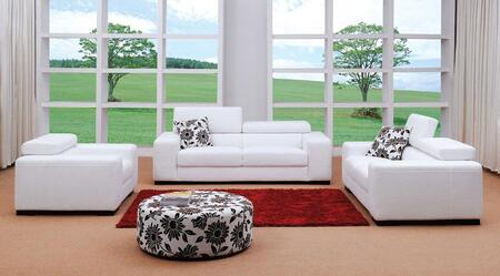 VIG Furniture VG0803 Modern Fabric Living Room Set
