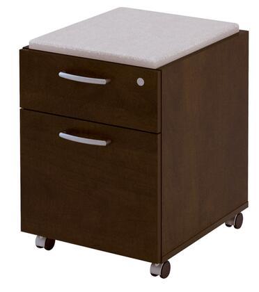 Bestar Furniture 100640 Pro-Biz Mobile Pedestal - Fully assembled