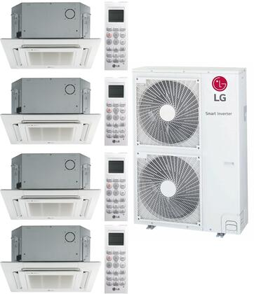 LG 963687 36000 BTU Quad-Zone Mini Split System