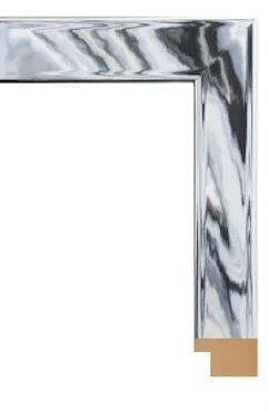 """Hitchcock Butterfield 68230X Reflections Contempo Silver Chrome 1"""" Framed Wall Mirror"""