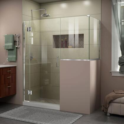 Unidoor X Shower Enclosure 6HP 30D 24BP 30RP 01