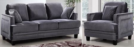 Meridian 655GRYSC Ferrara Living Room Sets