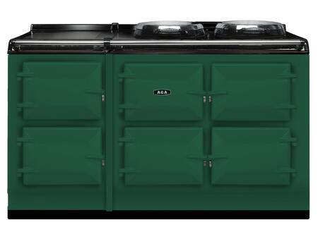 AGA ATC5BRG Total Control Series Slide-in Electric Range with  in British Racing Green