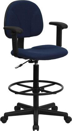 "Flash Furniture BT659NVYARMSGG 20"" Contemporary Office Chair"