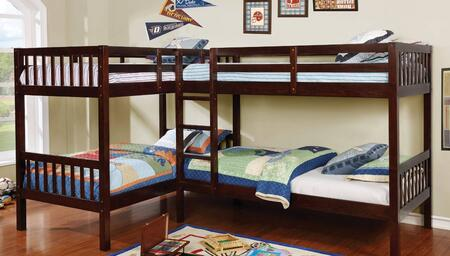 Furniture of America CMBK904BED Marquette Series  Twin Size Bunk Bed