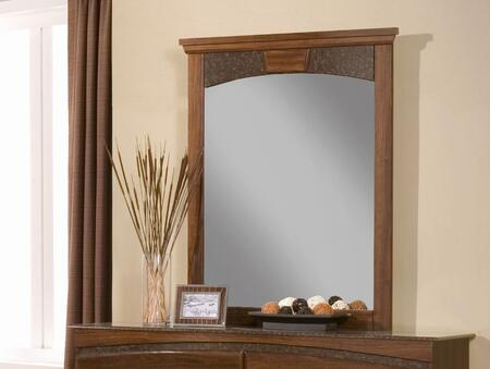 Sandberg 43410 Cara Series Rectangular Portrait Dresser Mirror
