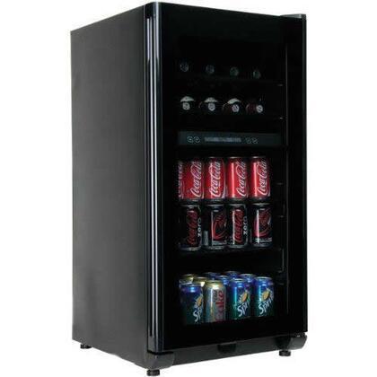 Haier HBCW100ABB  Freestanding Compact Beverage Center