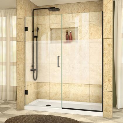 DreamLine UnidoorPlus Shower Door RS39 30 30IP 09 B HFR