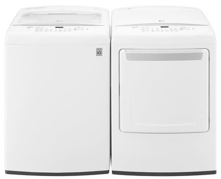 LG 653197 Washer and Dryer Combos