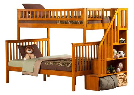 Atlantic Furniture AB56707  Twin over Full Size Bunk Bed