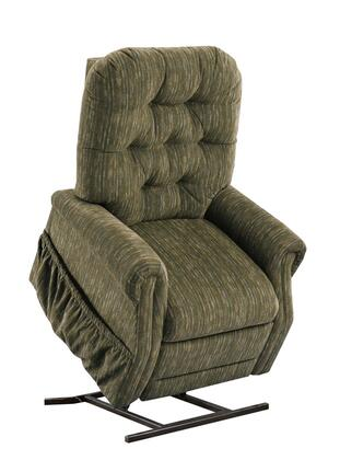 MedLift 2555BF Contemporary Fabric Wood Frame  Recliners