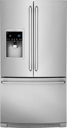 "Electrolux EI23BCXXSS 36"" Counter-Depth French Door Refrigerator with X cu. ft. Capacity, IQ-Touch Controls, Ice Maker, and PureAdvantage Filtration Systems, in Stainless Steel"