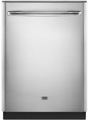 """Maytag MDB7759SAS 24"""" JetClean Plus Series Built-In Fully Integrated Dishwasher 