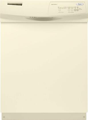 "Whirlpool 1000 Series DU1030XTX 24"" Full Console Built In Dishwasher With 5 Wash Cycles, 62 dBA, 14 Place Settings, NSF Certified Sani Rinse, Hard Food Disposer, In"