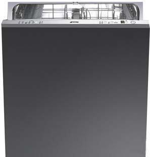 "Smeg STA8743U 24"" Built In Fully Integrated Dishwasher"
