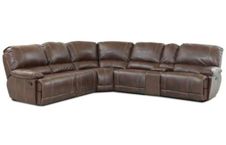 Klaussner DARIUSSECTIONAL Darius Series Reclining Bonded Leather Sofa |Appliances Conncetion