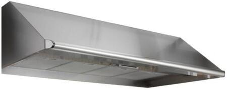 """Dacor EHRxx12SCH Wall Mount Range Hood with Multiple Exterior/In-Line Blower Options, 4 Speed Control, Blue LED Indicator, Auto-Start and 12"""" Height (Blowers Sold Separately)"""
